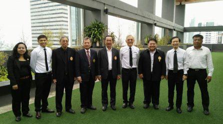 นายกสมาคมฯ เข้าเยี่ยมชม อาคาร KX ของพระจอมเกล้าธนบุรี